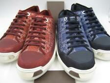 2 PAIR AUTHENTIC LOUIS VUITTON ON THE ROAD BANDANA MENS SNEAKERS SHOES SIZE 10