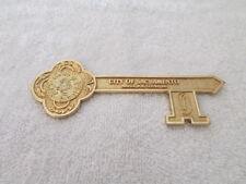 Vintage Key to the City of Sacramento California CA Mayor Joe Serna Jr