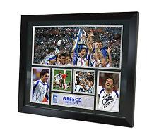Greece EURO 2004 signed Memorabilia - Charisteas - Zagorakis - Limited Edition