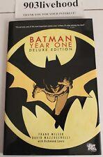 DC COMICS BATMAN - YEAR ONE DELUXE 2012 NEW PRINTING HC HARDCOVER FRANK MILLER