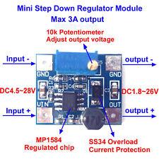 3.3V 5V 12V 24V 3A MP1584 DC-DC Buck Converter  Step Down Power Regulator Module
