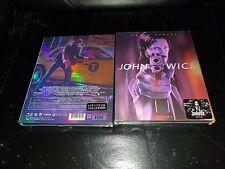 John Wick Chapter 2 Blu-ray Steelbook Novamedia LENTICULAR New & Sealed -In Hand