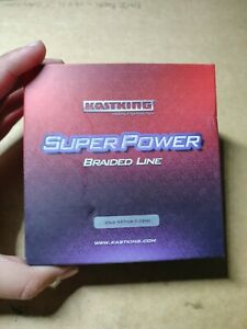 KASTKING SUPERPOWER BRAIDED FISHING LINE INCREDIBLE SUPERLINE 25lb 547yds