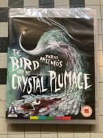 The Bird With The Crystal Plumage (Blu-ray, UK Import, Region B, 1970, 2018) NEW