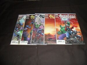 2020 Avengers of the Wastelands COMPLETE SET of 5 Comics 1-5 (1-2-3-4-5) NM/1ST!