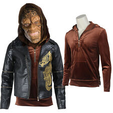 Movie Suicide Squad Killer Croc Whalen Cosplay Costume Shirt +Jacket Customized