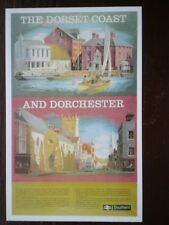 POSTCARD SR POSTER - THE DORSET COAST & DORCHESTER