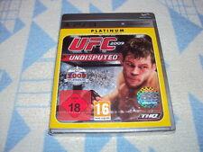 UFC 2009 Undisputed -- PLATINUM (SONY PLAYSTATION 3, 2010) NUOVO OVP