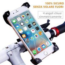 Supporto Smartphone BICI BIKE MOTO Porta Telefono Cellulare GPS Universale 360°
