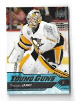 2016-17 UPPER DECK #466 TRISTAN JARRY YG RC UD YOUNG GUNS ROOKIE PENGUINS