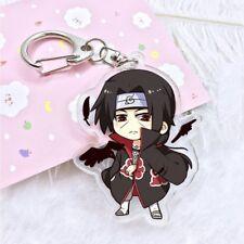 NARUTO Shippuden ITACHI UCHIHA Anime Acrylic Art Keychain Fashion Charm Figure