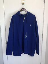 NEW Polo Ralph Lauren Men's Blue Polo Full Zip Hoodie Sweatshirt 4XLT
