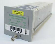 Wandel & Goltermann Band Limiting Filter 12 - 1548 kHz - 372 CH - RSB-12/1548