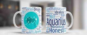 Zodiac Mug Astrology Horoscope Birthday Gift