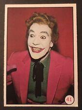 Vintage 1966 Topps Batman Bat Laffs Card #41 set break-Combined shipping