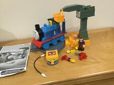 Thomas and Cranky, playset, including Thomas, turntable & tools