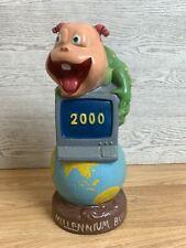 More details for rare year 2000 millennium bug ceramic ornament 11