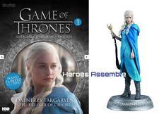 GAME OF THRONES COLLECTOR'S MODELS #1 DAENERYS TARGARYEN EAGLEMOSS FIGURINE HBO