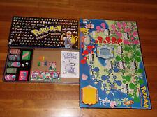 Pokemon Master Trainer Board Game 1999 Milton Bradley 100% Complete Excellent