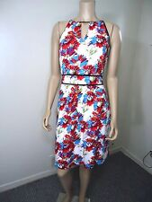 Tristan Floral Dress Strappy Summer Dress with colorful flowers SZ 10