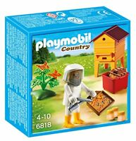 Playmobil 6818  Country Forester s Beekeeper  Playset with Honey