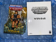 MATTEL MASTERS OF THE UNIVERSE CLASSICS WUN-DAR MISP w/ MAILER BOX (HE-MAN)