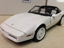 1/24 Franklin Mint White 1988 Corvette 35th Anniversary Sport Coupe B11TY53