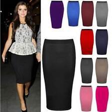 Unbranded Patternless Regular Size Skirts for Women