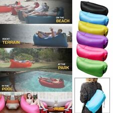 Inflatable Sofa Air Bed Lounger Chair Sleeping Bag Mattress Seat Couch Camping