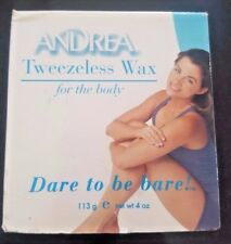 Andrea Tweezeless Wax for the Body 113gm - Dare to be Bare!