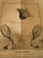 Caricature 1868 - A Martie frill babington