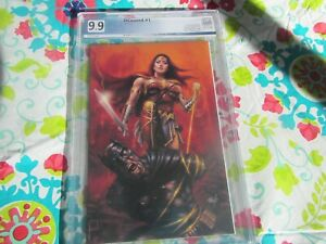 DCEASED 1 LUCIO PARRILLO VIRGIN VARIANT Limited to 600 PGX 9.9 Mint