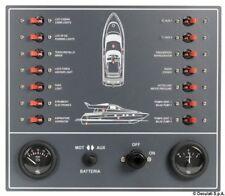 Pannello a magnetotermici per barca a motore | Marca Osculati | 14.809.00