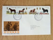 c.....FDC - G.B. 1978 Horses - First Day Cover.