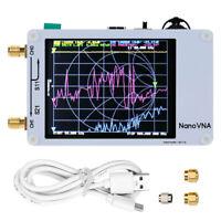 NanoVNA 50KHz-900MHz HF-VHF-UV-Vektor-Netzwerkantennenanalyse + LCDYE