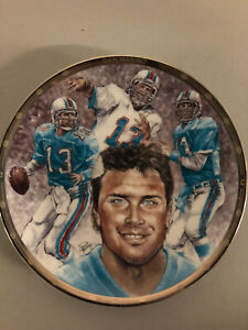 Dan Marino Miami Dolphins Collectable Plate