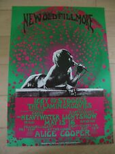 Iggy Pop and the Stooges -   Konzertposter Fillmore 1970 - Reprint