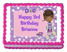DOC MCSTUFFINS edible party cake topper decoration cake image frosting sheet