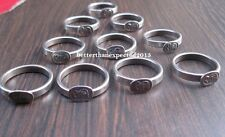 10x Black Horse Shoe Iron Shani Rings KALE GODE KI NAAL NAL RING