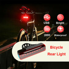 5 Modes 9 LED Tail Lamp Bike Bicycle Cycling USB Rechargeable Front Rear Light