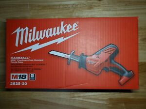 BRAND NEW Milwaukee 2625-20 M18 Hackzall Recip Saw (Tool Only)