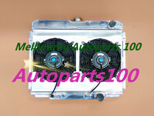 FOR FORD MUSTANG RADIATOR&SHROUD&FANS 289/302/351 AT/MT 1968 1969 3 ROW ALUMINUM
