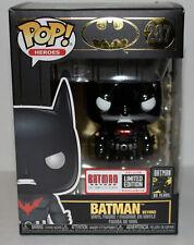 Funko Pop Batman Beyond # 287 Metallic Limited Edition Exclusive - Excellent