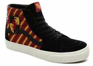 Vans Off The Wall Men's X Harry Potter Gryffindor SK8-Hi Shoes