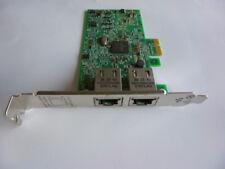 HP 332T Gigabit Ethernet Card  PCI Express x1  2 Port(s) 616012-001