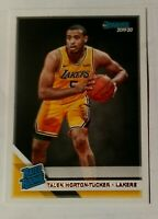 2019-20 Panini Donruss Talen Horton Tucker Rated Rookie RC Los Angeles Lakers🔥