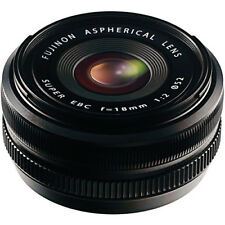 New Fujifilm 18mm f/2.0 XF R Lens