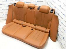 BMW F86 x6m Hintersitze Sportsitze Sitze Rear Seats Leder MERINO ARAGONBRAUN