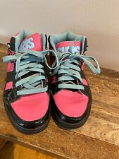 Womens Osiris Convoy Mid Muti-Color Retro Look Pink Black Blue Skate Shoes 10