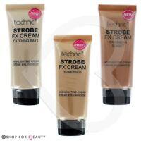Technic Face Highlighter Strobe FX Creams Bronze, Pearl & Pink